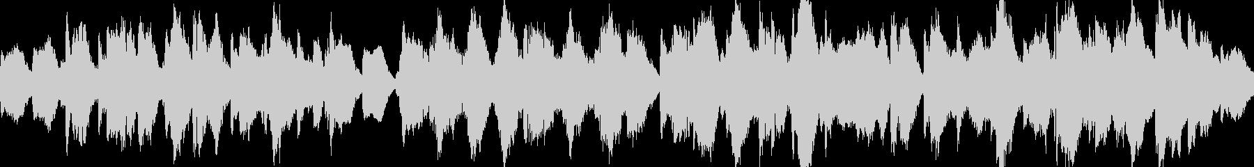ホラー・魔女の森のオーケストラ・ループ版の未再生の波形