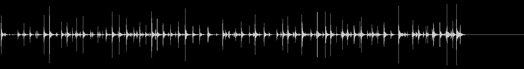[生録音]キータイピング03‐セミロングの未再生の波形