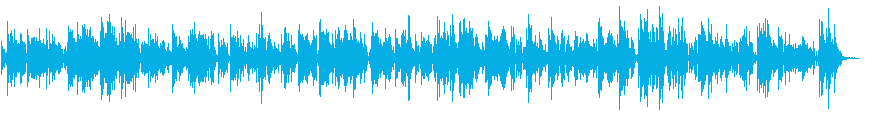 おしゃれサックスが流れる大人のジャズバーの再生済みの波形