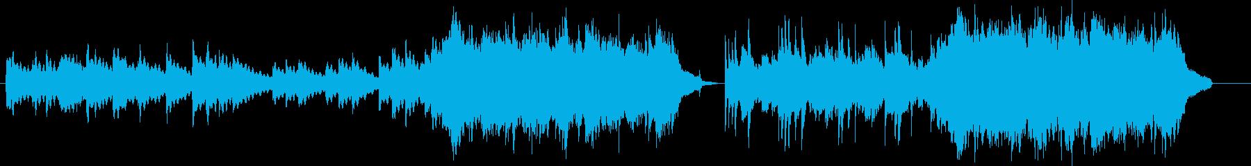 映像系、儚く切ないバラードの再生済みの波形
