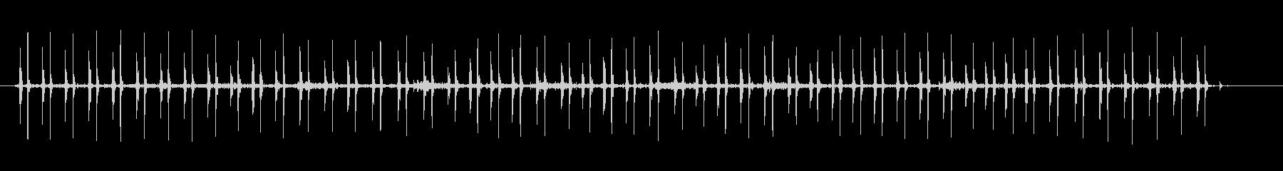 ハートビート58Bpm-病院-の未再生の波形