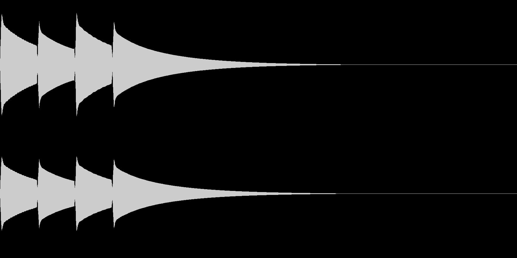 ピンポンピンポン(正解/クイズ/優しい)の未再生の波形
