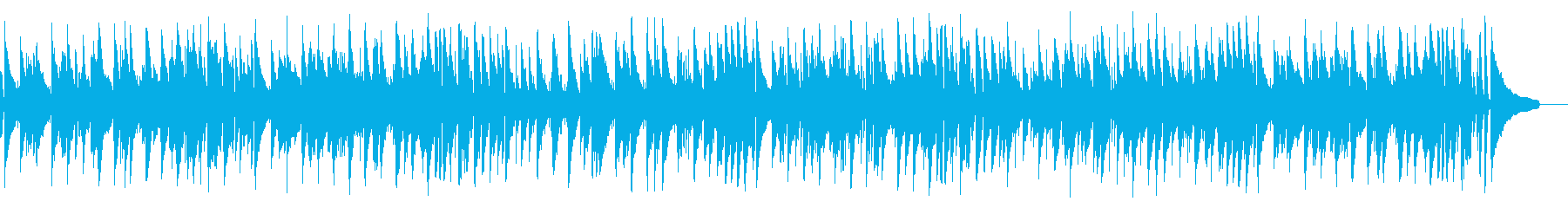 Chopin's masterpiece with elegant jazz's reproduced waveform