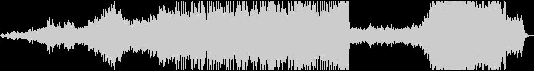エレクトロ 交響曲 モダン 実験的...の未再生の波形