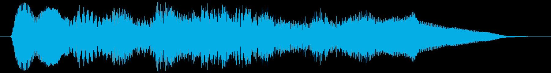 ティーロリロリロリーン(アジア、弦楽器)の再生済みの波形