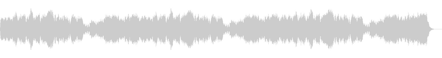 クリスマス「諸人こぞりて」パイプオルガンの未再生の波形