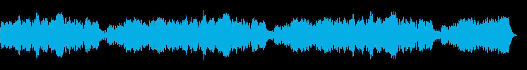 クリスマス「諸人こぞりて」パイプオルガンの再生済みの波形