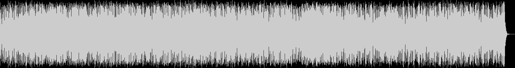スペースドラムによる神秘的なBGMの未再生の波形