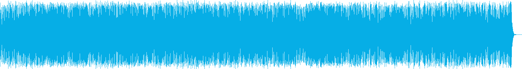 スペースドラムによる神秘的なBGMの再生済みの波形