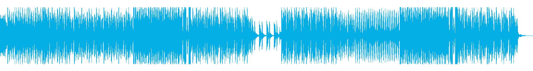 ベルでの始まりの合図からー軽快ポップスの再生済みの波形