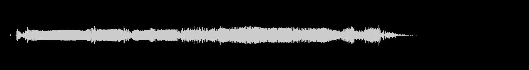 エレキギター(リードフレーズ1)の未再生の波形
