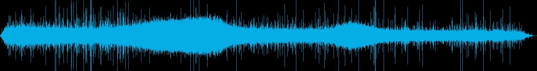 【生録音】街に降る綺麗な雨の音 2の再生済みの波形