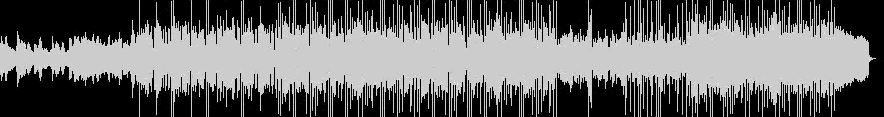 淡々と進行するギター・ピアノインストの未再生の波形