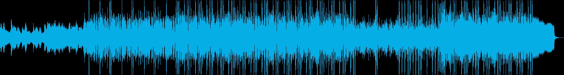 淡々と進行するギター・ピアノインストの再生済みの波形