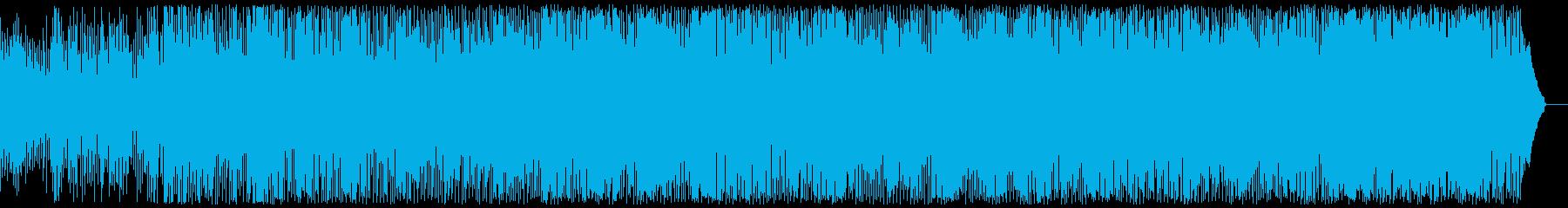 明るく軽快なエレクトロポップの再生済みの波形