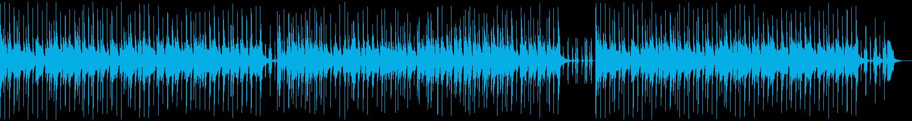 生の津軽三味線、民謡ジャズの再生済みの波形