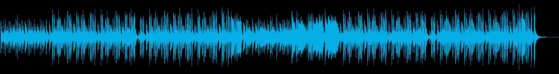 リコーダーが可愛いほんわかしたBGMの再生済みの波形