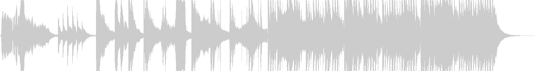 【和】落ち着いた和の曲の未再生の波形