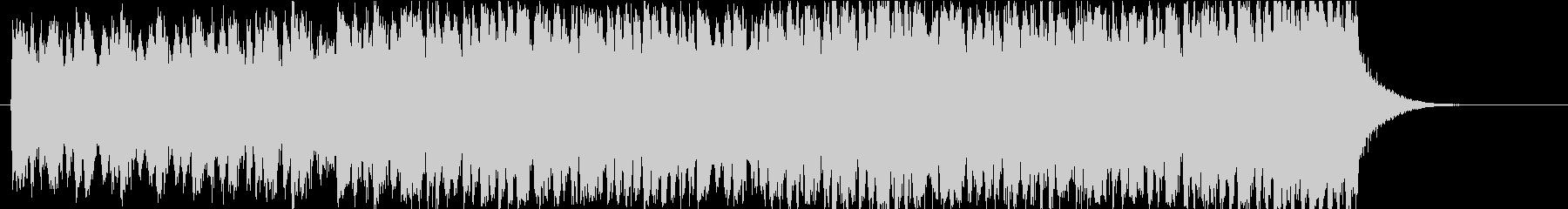 ファンタジー映画風のエピック・トレーラーの未再生の波形