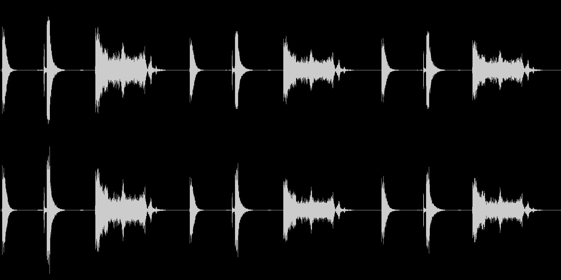 スイッチ、モータースタート、3バー...の未再生の波形