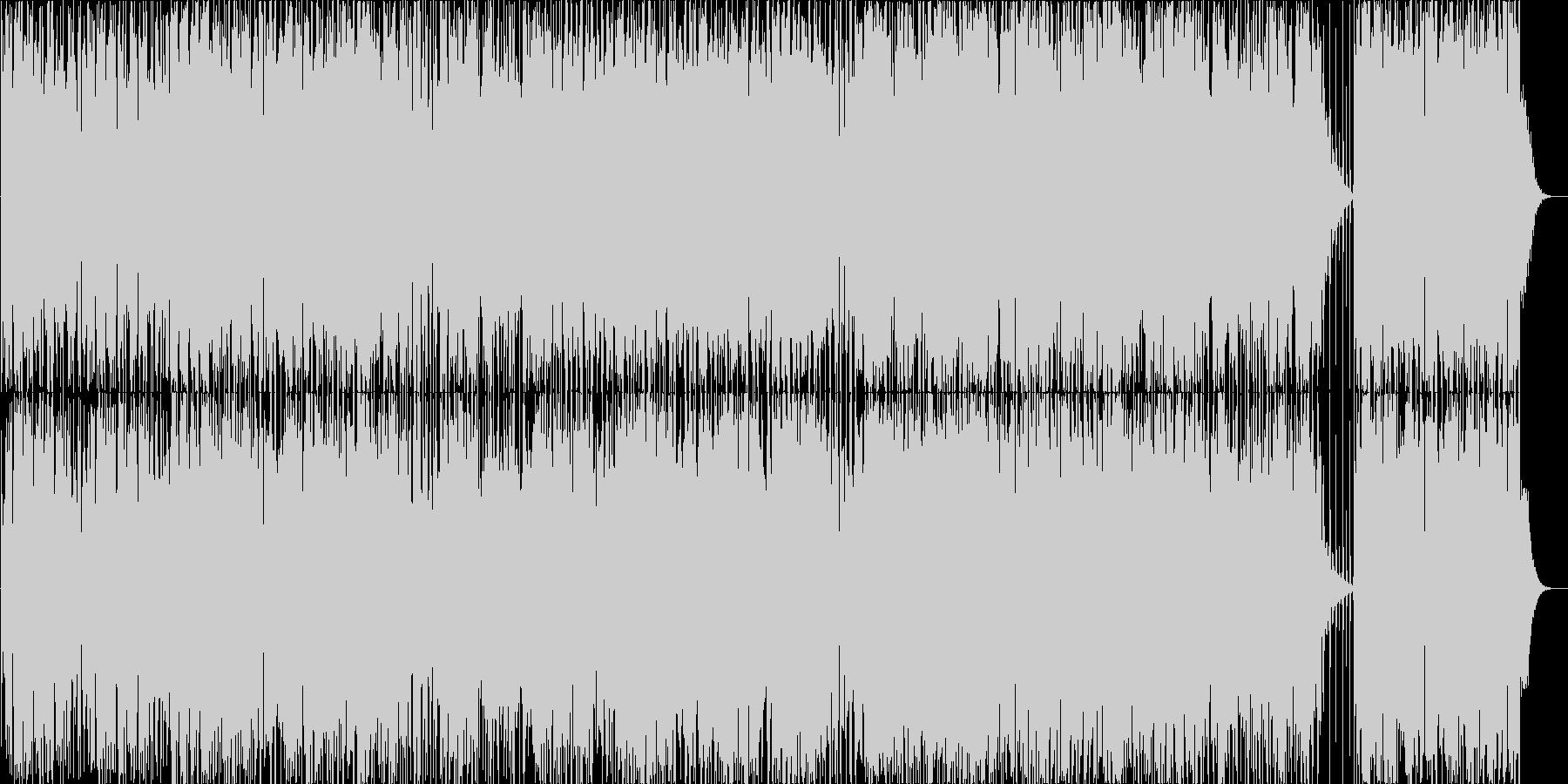 fifth bluesの未再生の波形