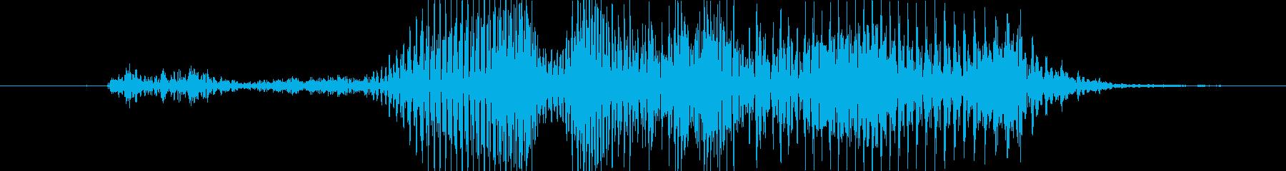 コラ!の再生済みの波形