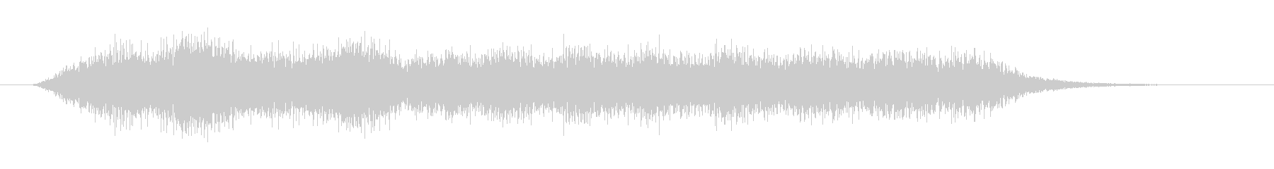 不吉な場面転換音の未再生の波形