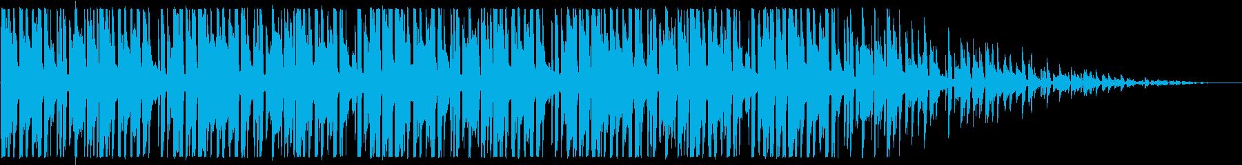 ビートの強いヒップホップ_No445_5の再生済みの波形
