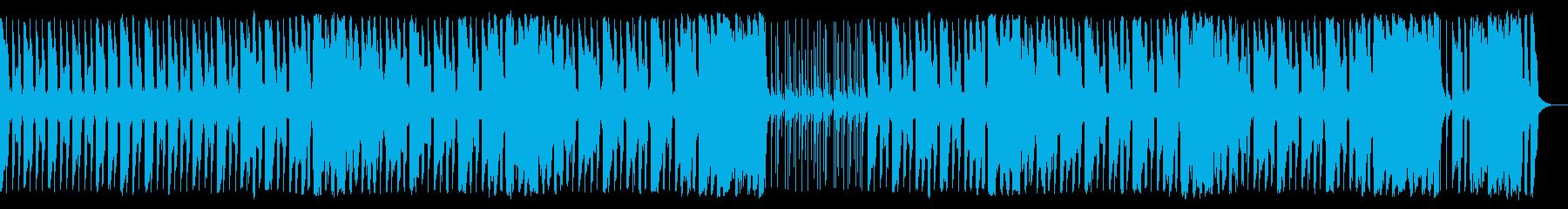 手拍子がリズムのポップでノリノリクラップの再生済みの波形