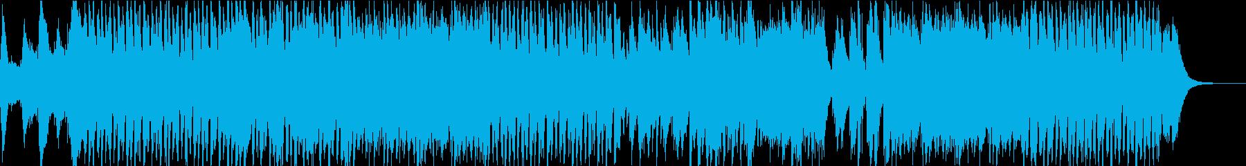 ハロウィンを連想させる奇妙なインストの再生済みの波形