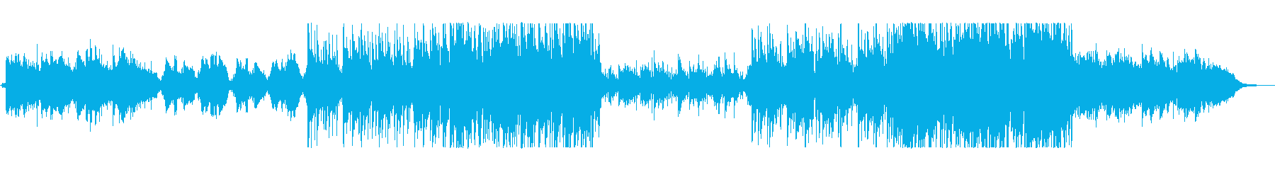 無常を感じる~流れる尺八の和風ポップスの再生済みの波形