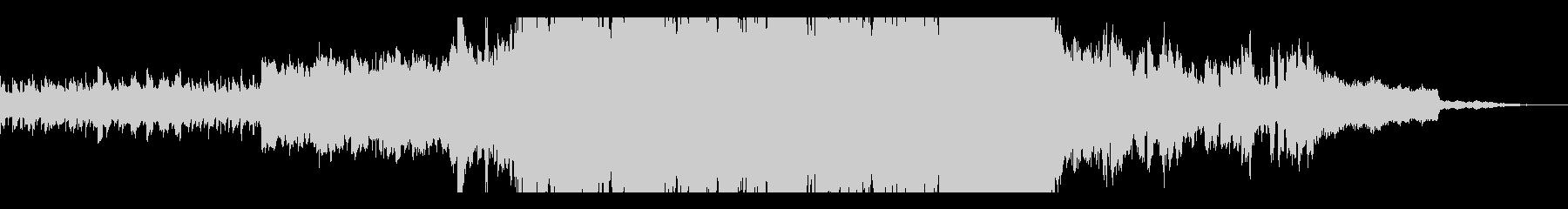 ポップロック レトロ 積極的 焦り...の未再生の波形