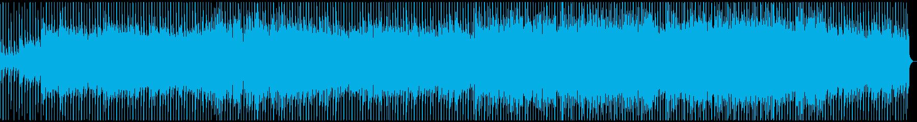 ポップ、きらきら、オープニング向けの再生済みの波形