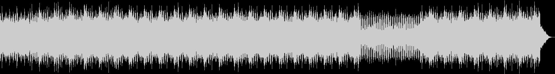 軽快なフルートのpops の未再生の波形
