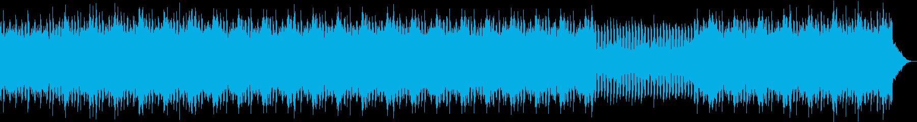 軽快なフルートのpops の再生済みの波形
