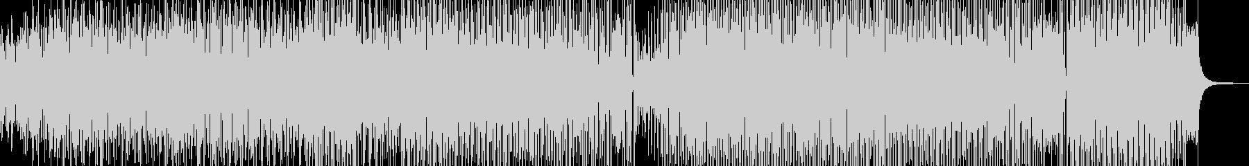 ピアノ・ディズニー風パレードポップの未再生の波形