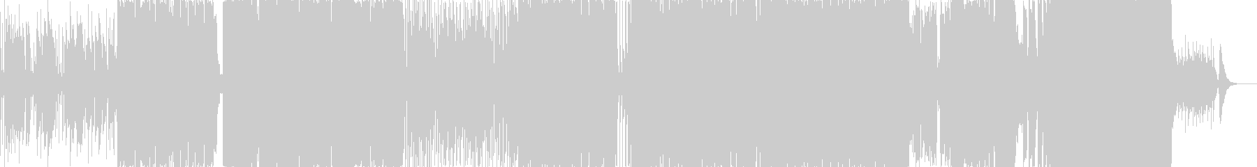 切ない系ミドルバラードの未再生の波形