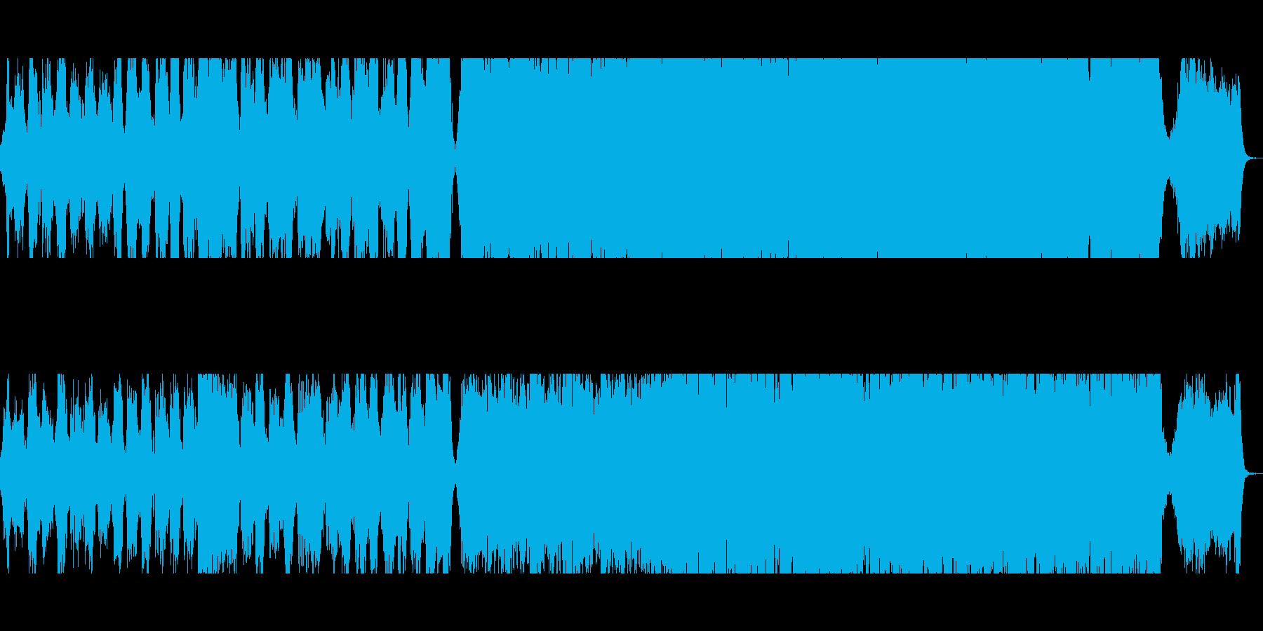和風:大河ドラマ風オーケストラの再生済みの波形