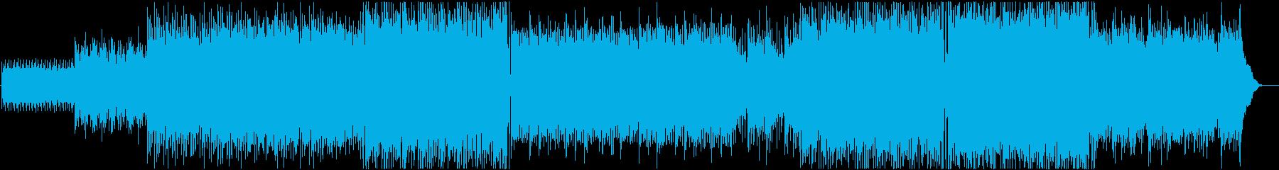 Epic 爽快かつ壮大な映像系BGMの再生済みの波形