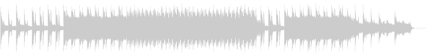 BGM with a mysterious and ethnic impression's unreproduced waveform