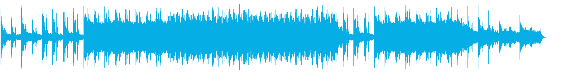 BGM with a mysterious and ethnic impression's reproduced waveform
