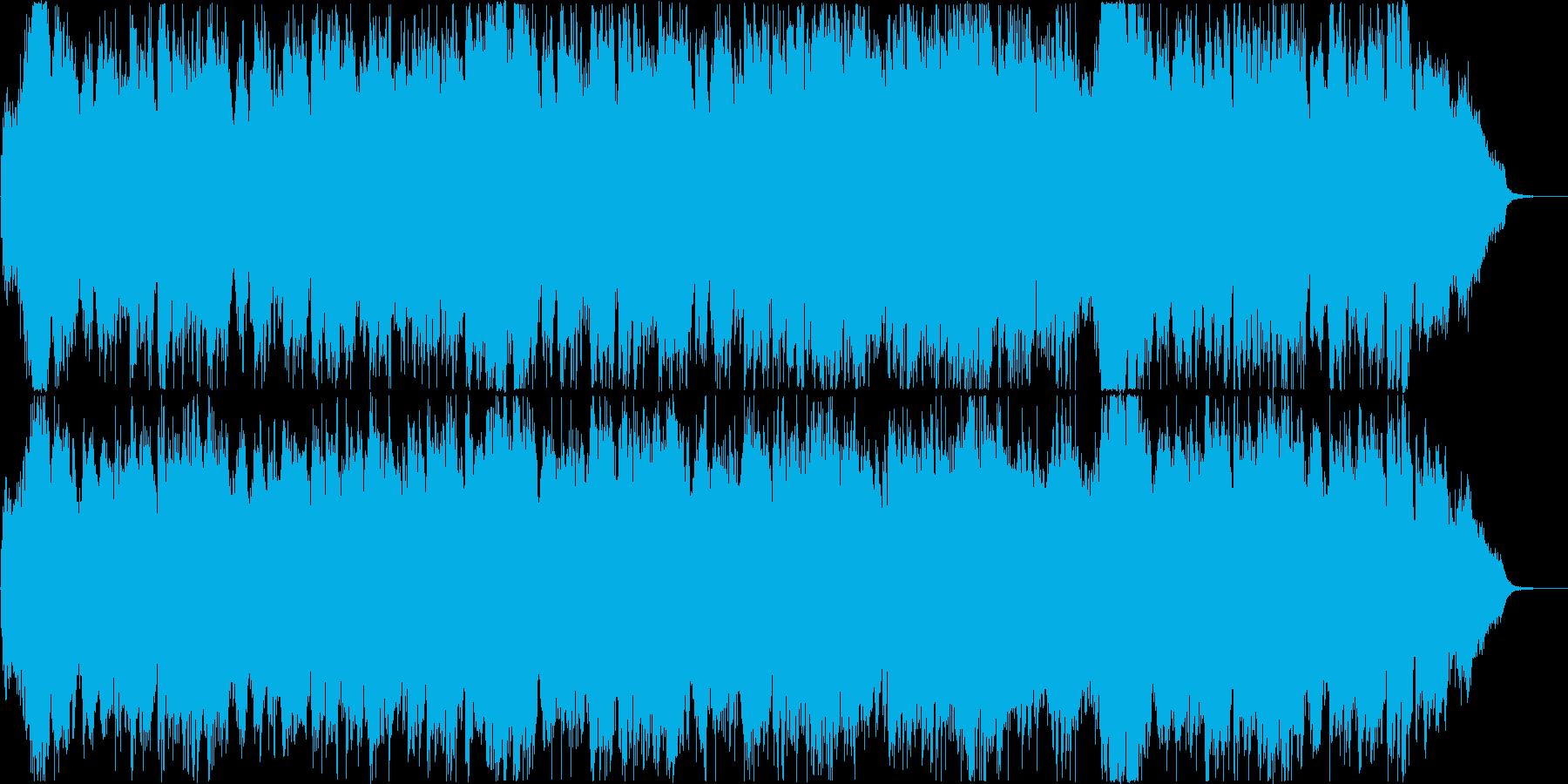 明るく華やかなオーケストラオープニング!の再生済みの波形