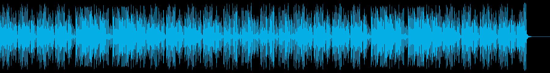 速い明るいハッピーなレトロジャズピアノの再生済みの波形