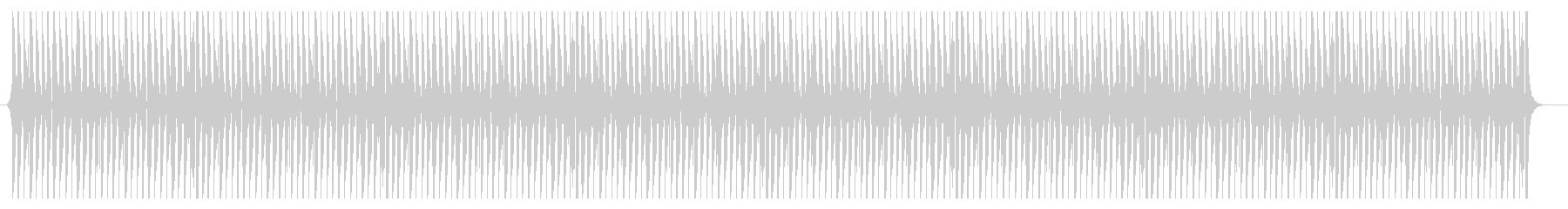 軽快、リズミカルなテクノビートBGMの未再生の波形