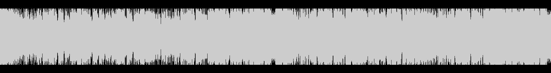 最先端の技術(ループ)の未再生の波形