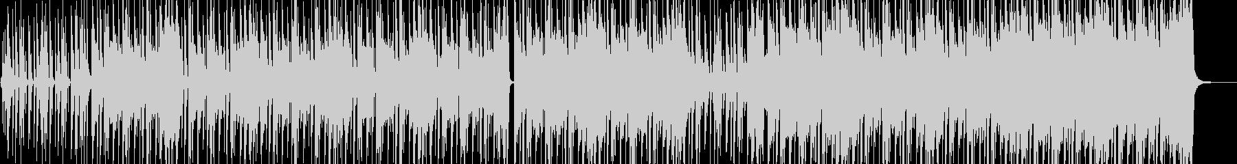ストリート育ちイメージのヒップホップ Bの未再生の波形