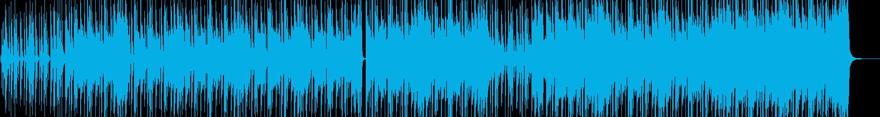 ストリート育ちイメージのヒップホップ Bの再生済みの波形