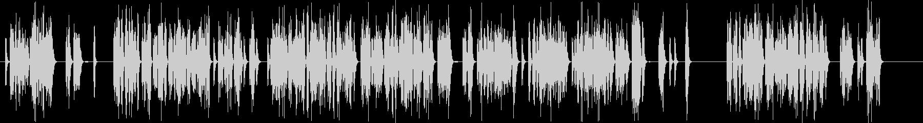 電子機器の故障音の未再生の波形