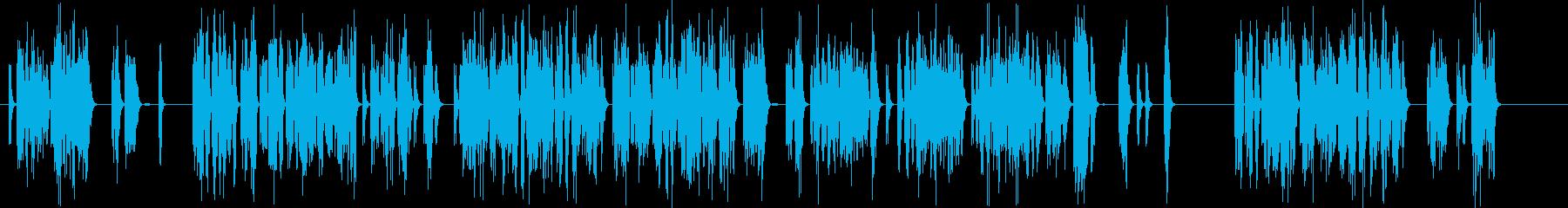 電子機器の故障音の再生済みの波形