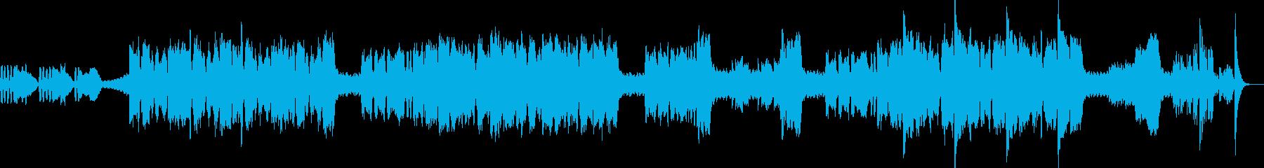 ビデオゲームメインタイトルテーマS...の再生済みの波形